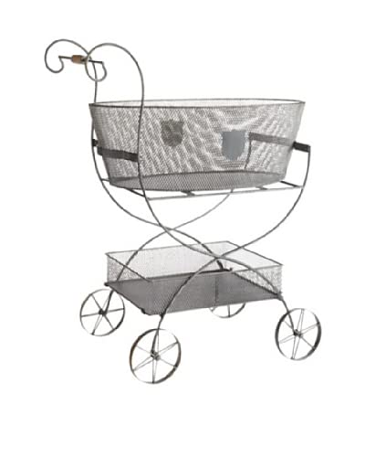 Napa Home & Garden Metal Decorative Garden Cart