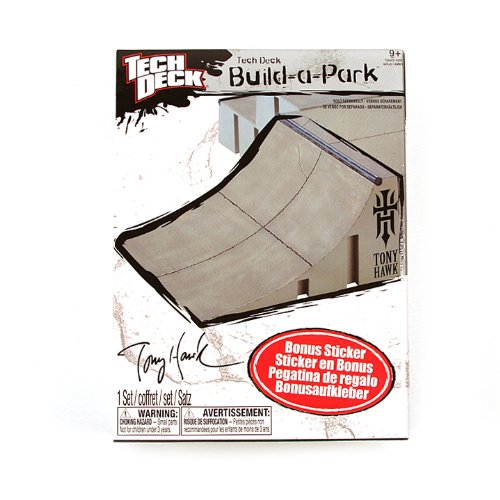 Tech Deck Build-a-Park Quarter Pipe - 1