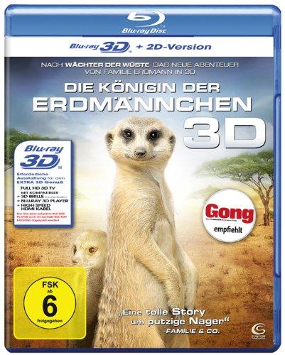 Die Königin der Erdmännchen 3D (+ 2D Version) [Blu-ray 3D]