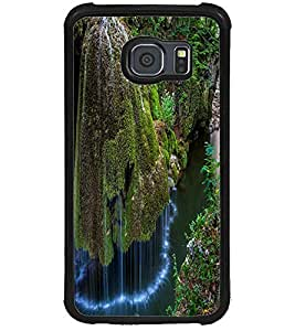 ColourCraft Beautiful WaterFall Design Back Case Cover for SAMSUNG GALAXY S6