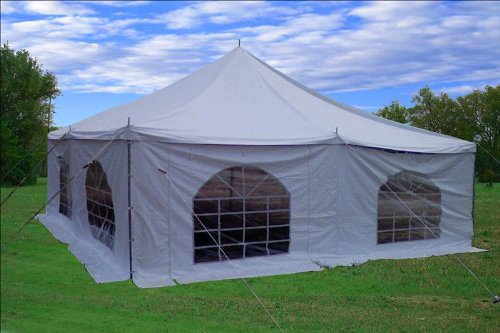 20'x20' PVC Pole Tent - Party Wedding Canopy Shelter