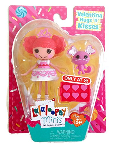Lalaloopsy Minis 2015 Valentines Day Target Exclusive - Valentina Hugs N Kisses