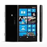 Nokia Lumia 920 Black Factory Unlocked 32GB phone 4G LTE 800 / 900 / 1800 / 2100 / 2600 - RM-821