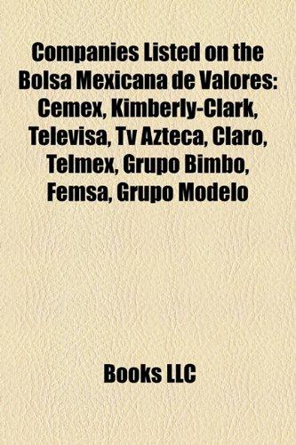 companies-listed-on-the-bolsa-mexicana-de-valores-cemex-kimberly-clark-televisa-azteca-claro-tracfon