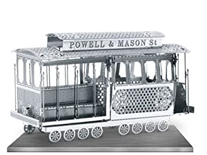 Fascinations MetalEarth 3D Laser Cut Model - San Francisco Cable Car