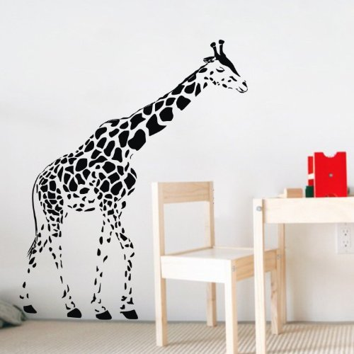 Giraffe Wall Decal Sticker For Kid'S Bedroom front-789973