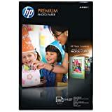 HP Premium Photo Paper, Glossy (100 Sheets, 4 x 6 Inch Borderless)