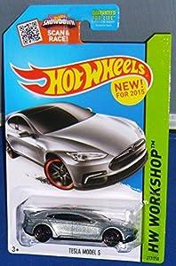 2015 Hot Wheels Hw Workshop - Tesla Model S