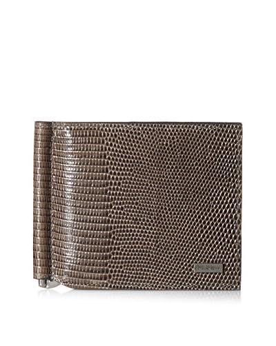 Dolce & Gabbana Men's Leather Wallet, Grigio