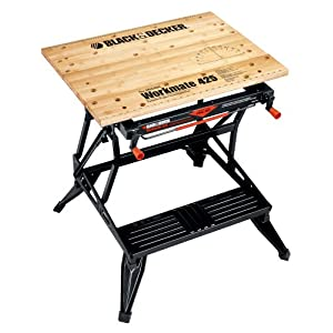 Black & Decker WM425 Workmate 425-550 Pound Capacity Portable Work Bench
