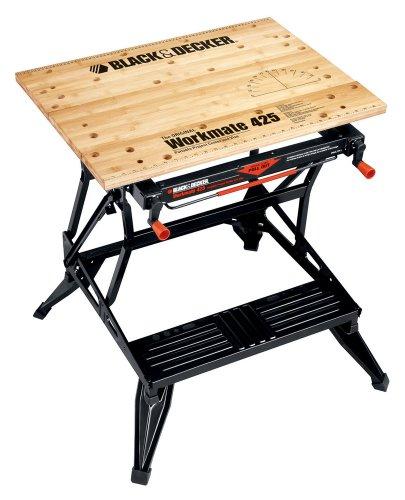 Black & Decker WM425 Workmate 425-550 Pound Capacity Portable Workbench