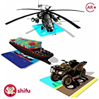Shifu Travel - Educational Games - 60 Vehicles Cards - iOS & Android - Augmented Reality