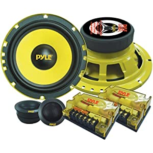 Pyle PLG6C 6.5-Inch 400-Watt 2-Way Custom Component System by Pyle