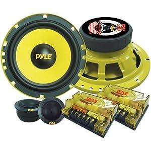10. Pyle PLG6C 6.5-Inch 400-Watt 2-Way Custom Component System (Pair). Precio: $37.11