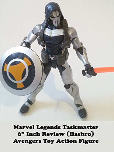 "Marvel Legends TASKMASTER 6"" inch Review (Onslaught BAF) Avengers toy action figure"