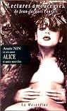 Alice et autres nouvelles par Anaïs Nin