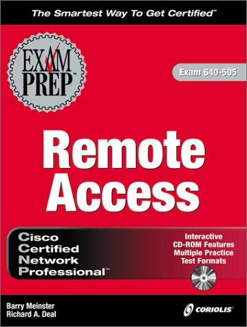 CCNP Remote Access Exam Prep (Exam: 640-505)