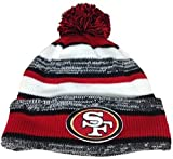 New Era On field Sport Knit San Francisco 49ers Game Hat Black/White/Red Size One Size