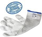 ChefsGrade Cut Resistant Safety Glove - Protection From Knives, Mandoline and Graters - Soft Flexible with Stainless Steel Wire - One Glove