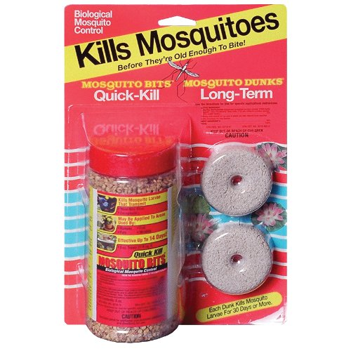 Summit 115 6 mosquito dunks and bits combo pack for Mosquito dunks amazon