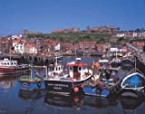 Ravensburger Puzzle - Whitby Abbey & Harbour,Yorkshire (1000 pieces)