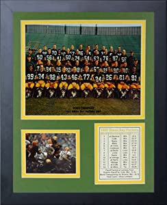 Legends Never Die 1965 Green Bay Packers Framed Photo Collage, 11x14-Inch by Legends Never Die