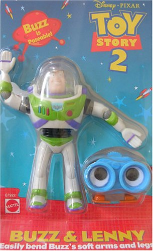 Buy Low Price Arcotoys Disney Toy Story Figure set : Buzz & Lenny (B000FBONCA)