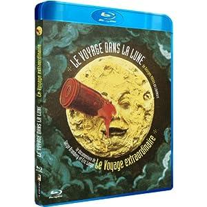 Le Voyage dans la Lune en couleurs précédé du Voyage extraordinaire [Blu