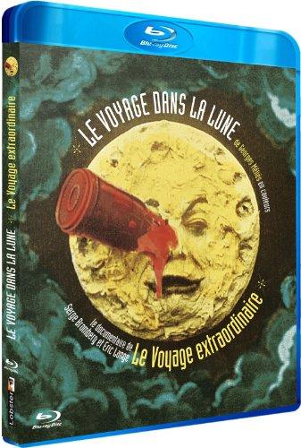 Le Voyage dans la Lune de Georges Méliès en couleurs + Le voyage extraordinaire [Francia] [Blu-ray]