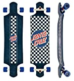 Santa Cruz (Drop Down) Check Cruzer Freeride/Downhill Longboard Deck Complete 40""