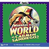 Where In The World Is Carmen Sandiego? - Jewel Case (PC)