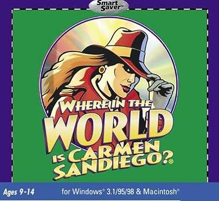 Where In The World Is Carmen Sandiego? (Jewel Case)