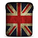 RayShop - Union Jack Neoprene Tablet Sleeve Case for 10