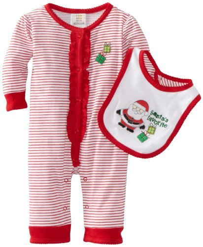 Absorba Baby Loungewear Coverall, Holiday, 0-3 Months front-772153