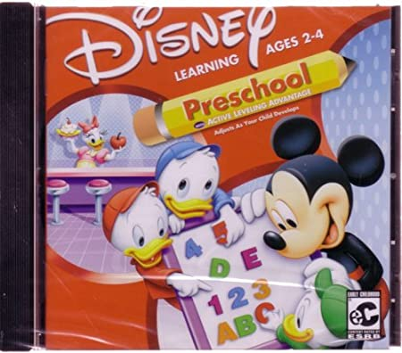 MICKEY PRESCHOOL (Jewel Case)