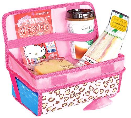 Hola bandeja trasera soft Kitty (leopardo rosa)