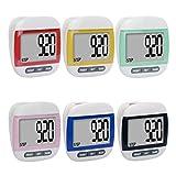 MaMaison007 LCD multifunción paso podómetro calorías contador salud-verde