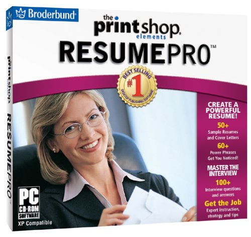 Printshop Resume Pro (Jewel Case)