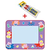 Tomy T72034 + 71841 Peppa Pig Aquadoodle Large Drawing Mat with 2 Aquadoodle Water Pens
