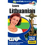 Talk Now! Learn Lithuanian. CD-ROM: Essential Words and Phrases for Absolute Beginners - German Editionby EuroTalk