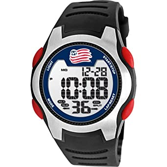Game Time Mens MLS-TRC-NE NEW ENGLAND REVOLUTION Watch by Game Time