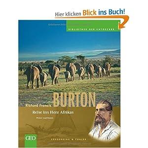 eBook Cover für  Richard Francis Burton Reise ins Herz Afrikas