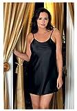 iCollection Women's Plus-Size Satin Chemise thumbnail