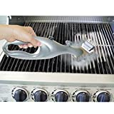 BBQ Grill Brush Charcoal Grill Steam Cleaner for All Barbecue Grates Stainless Steel Brush Cleaner Non Scratch Cleaning Grill Brush