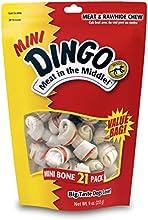 Dingo Rawhide Mini Bones, 21-Count Value Bag