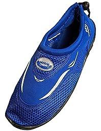 Men\'s Aqua Shoes Royal Blue 9
