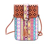 #2: Tribal Printed Mobile Pouch Sling Bag for girls to carry phone and cards in style