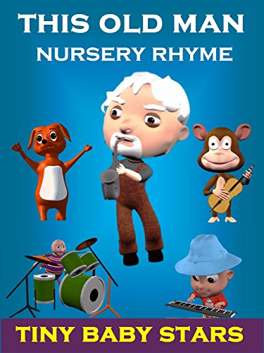 This Old Man He Played One | Excellent Nursery Rhymes for Kids | Learn to Count with Tiny Baby Stars