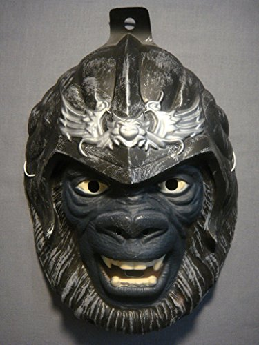 PLANET OF THE APES COLONEL ATTAR HALLOWEEN MASK PVC (Colonel Costume For Kids)