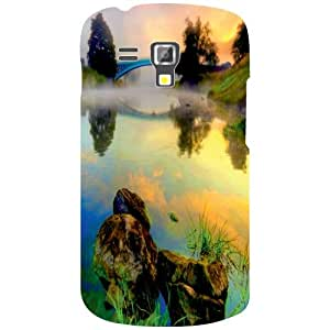 Printland Rainbow Colors Phone Cover For Samsung Galaxy S Duos 7582